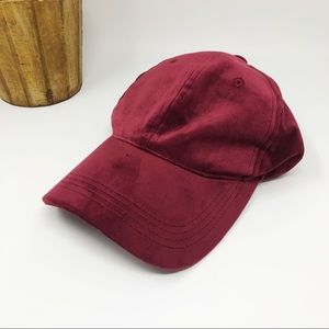 NWOT Red Velvet Baseball Cap